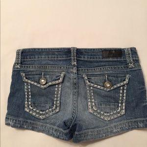 Daytrip Shorts - Ladies Daytrip Gemini Distressed Shorts